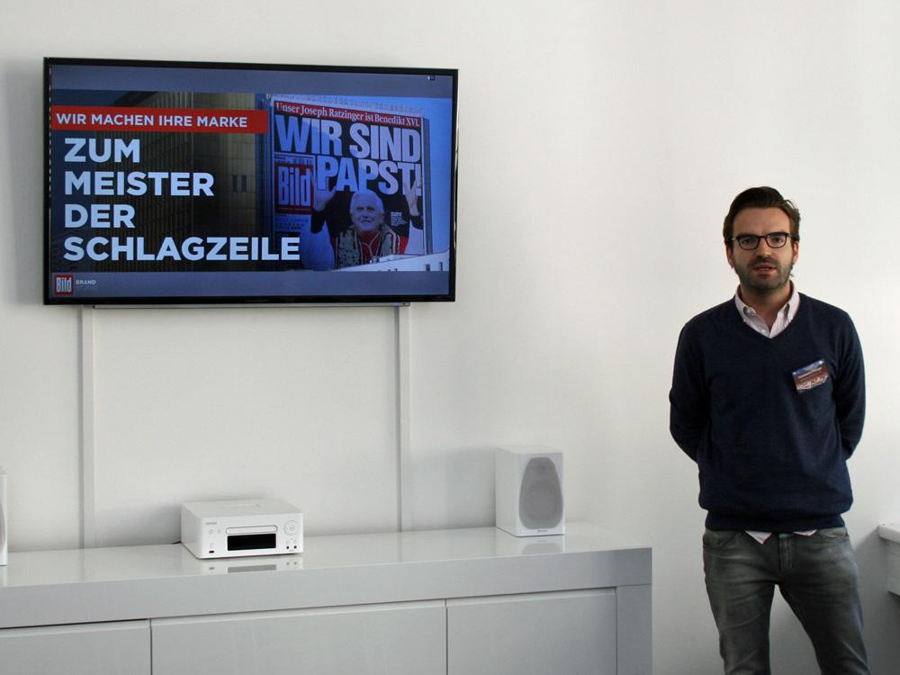 Constantin Philippi erläutert, wie das Bild Brand Studio Marken zu Schlagzeilen macht