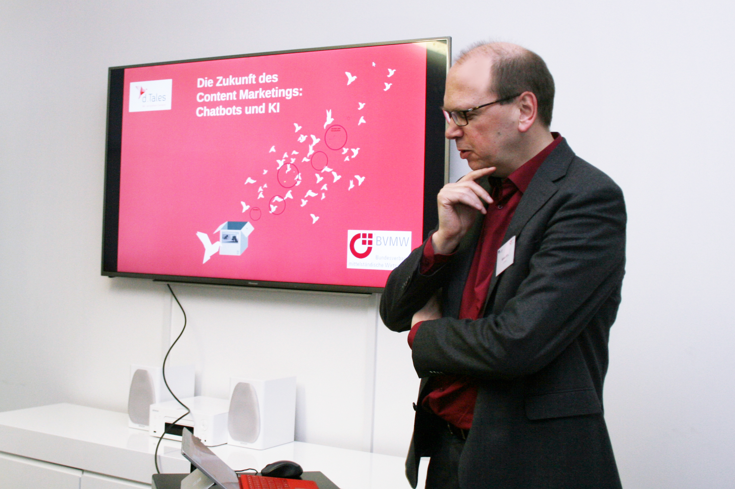 Klaus Eck, Gründer von d.Tales, sinniert über die Zukunft des Content Marketing