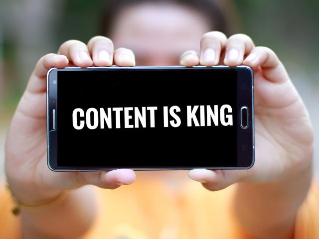 Content ist immer König
