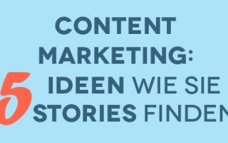 Preview: 5 Ideen wie Sie Storys finden - Airmotion Media