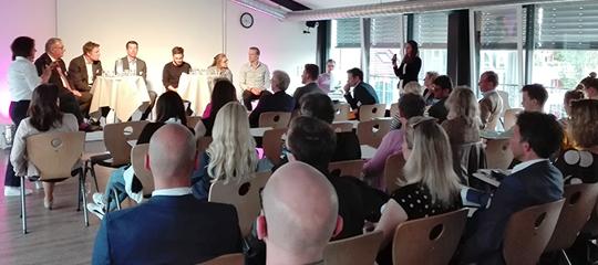 """""""Mittelständler zeigt Euch!"""" - Airmotion-Media-Chef Tobias Lobe bei BVMW Personalforum"""