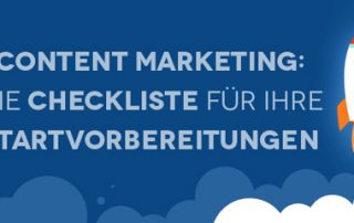 Preview: Infografik Checkliste Content-Marketing-Start - Airmotion Media