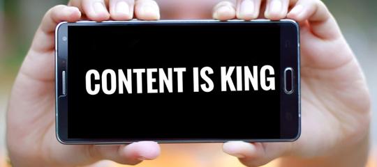 Glossar Content Marketing: Content - Airmotion Media