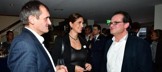 Speakers Night 2018 Hamburg - Burkhardt Müller-Sönksen, Rebecca Mohnssen, Tobias Lobe - Airmotion Media
