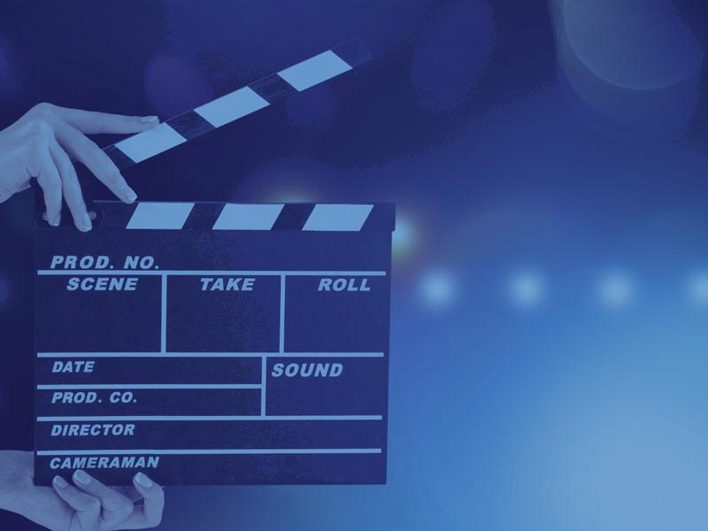 Symbolbild Storytelling - Kameraklappe