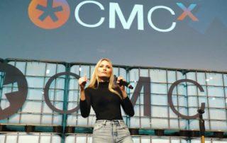 Carolin Niemczyk von Glasperlenspiel live on stage bei der CMCX 2018 - Airmotion Media