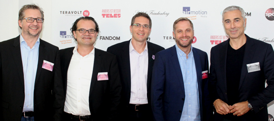 MediaWorks After 5 Vol. 2: Die Speaker Friedrichs, Lobe, Jarre, Lormes und Christmann (v.l.n.r.)