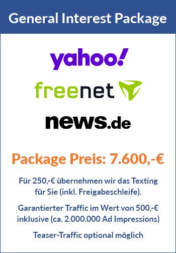 Advertorial Paket Yahoo Freenet News (General Interest)