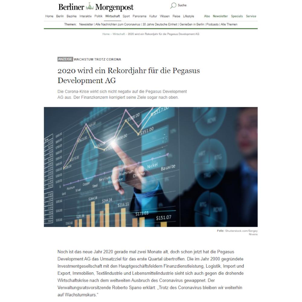 Beispiel Advertorial Berliner Morgenpost
