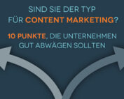 Infografik: Entscheidungshilfe Content Marketing Preview – Airmotion Media